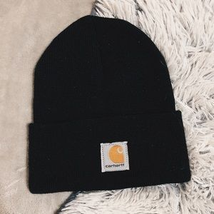 Carhartt Black Winter Hat